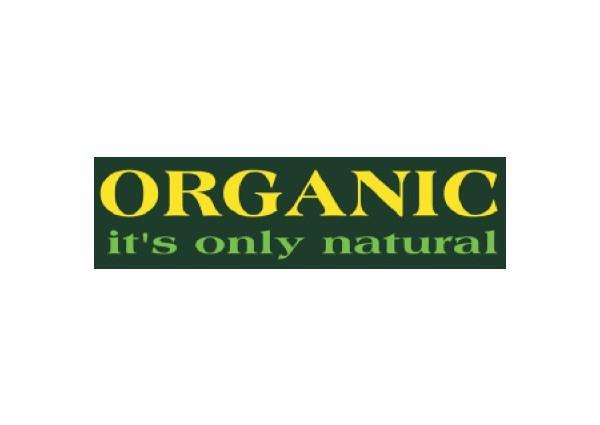 "JR145 Root Concepts ""Organic, it's only natural"" Mini Bumper Sticker"