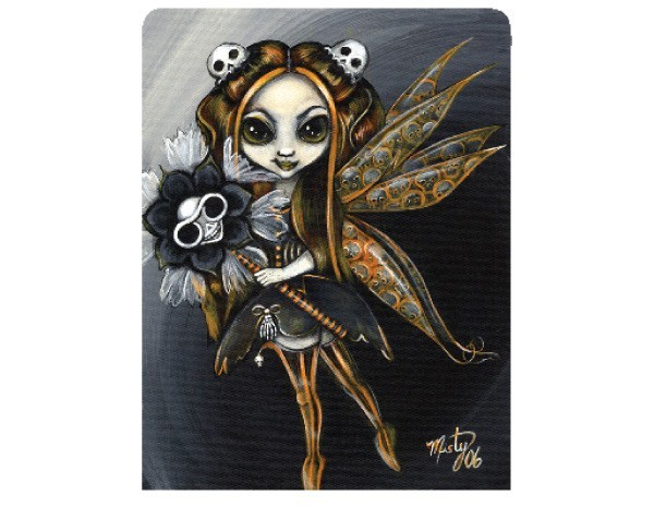 "STAR128 Misty Benson ""Harbringer of Halloween"" Sticker"
