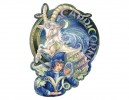 "SKY740 Bergsma Gallery ""Capricorn"" Sticker"