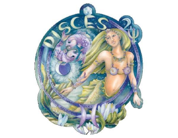 "SKY742 Bergsma Gallery ""Pisces"" Sticker"