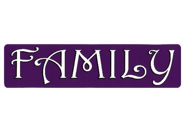 "PC118 New sKool ""Family"" Bumper Sticker"