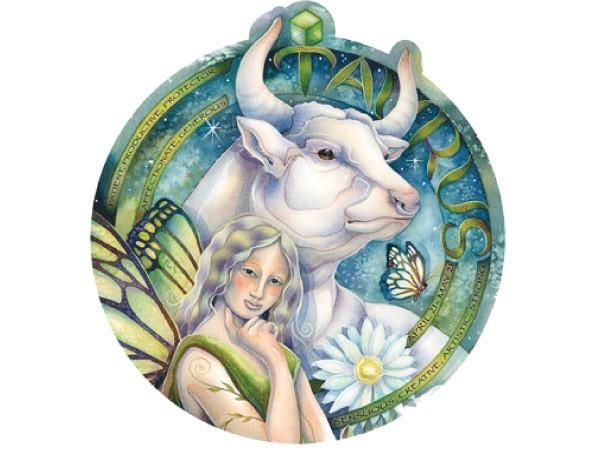 """SKY744 Bergsma Gallery """"Taurus"""" Sticker"""