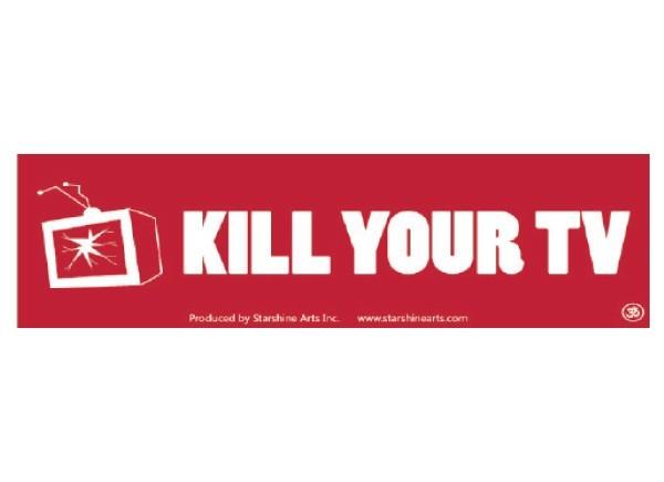 Pc299 starshine arts kill your tv bumper sticker