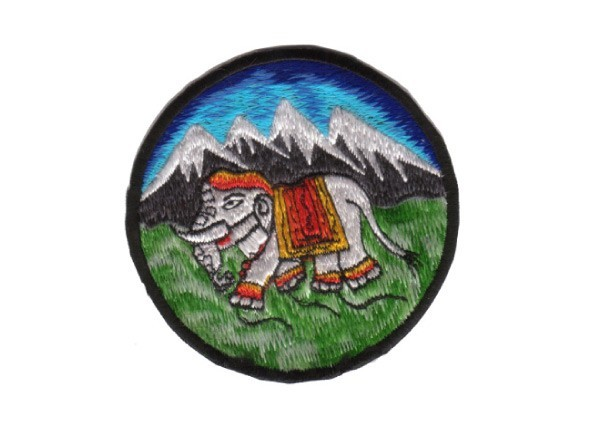 """EP94 Patches For Life """"Elephant"""" Patch"""