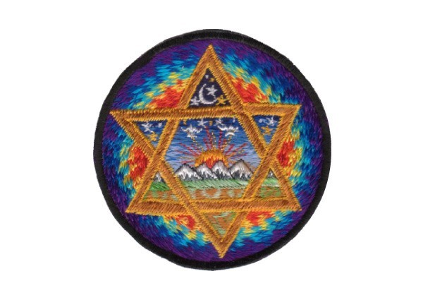 """EP100 Patches For Life """"Six-Point Star"""" Patch"""