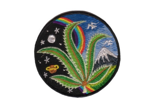 """EP109 Patches For Life """"Thistle Mushroom"""" patch"""
