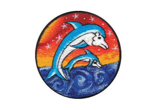 """EP116 Patches For Life """"Dolphins"""" patch"""