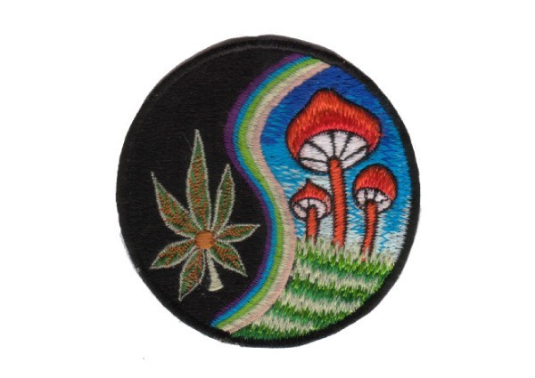 "EP120 Patches For Life ""Shroom/Leaf"" patch"