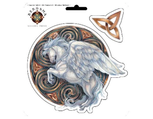 SKY752 Bergsma Gallery Dreams Take Flight Sticker