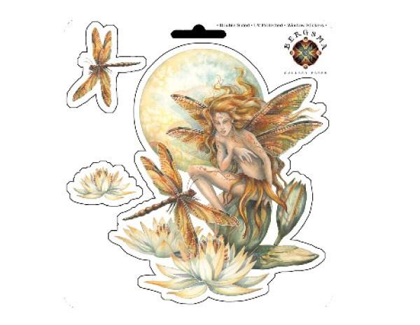 "SKY759 Bergsma Gallery ""Wild Magic"" Sticker"